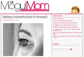 Next Stop: The Mogul Mom